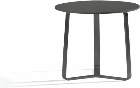 Outdoor sidetable - lava - round 48