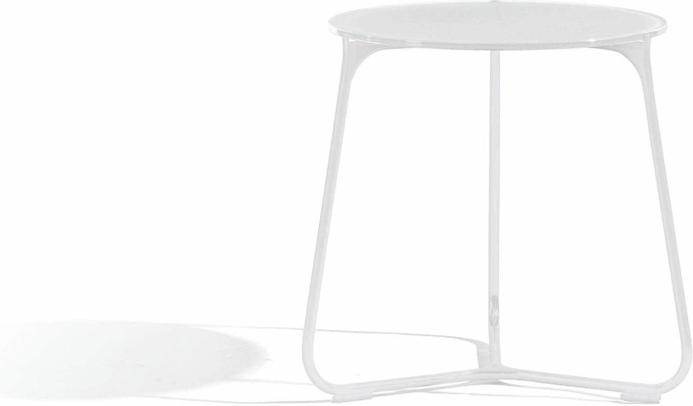 Mood coffee table - white - glass white - 42