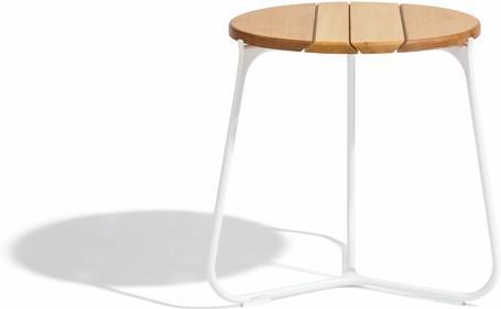 Tavolino da caffè - bianco - iroko IR - 42