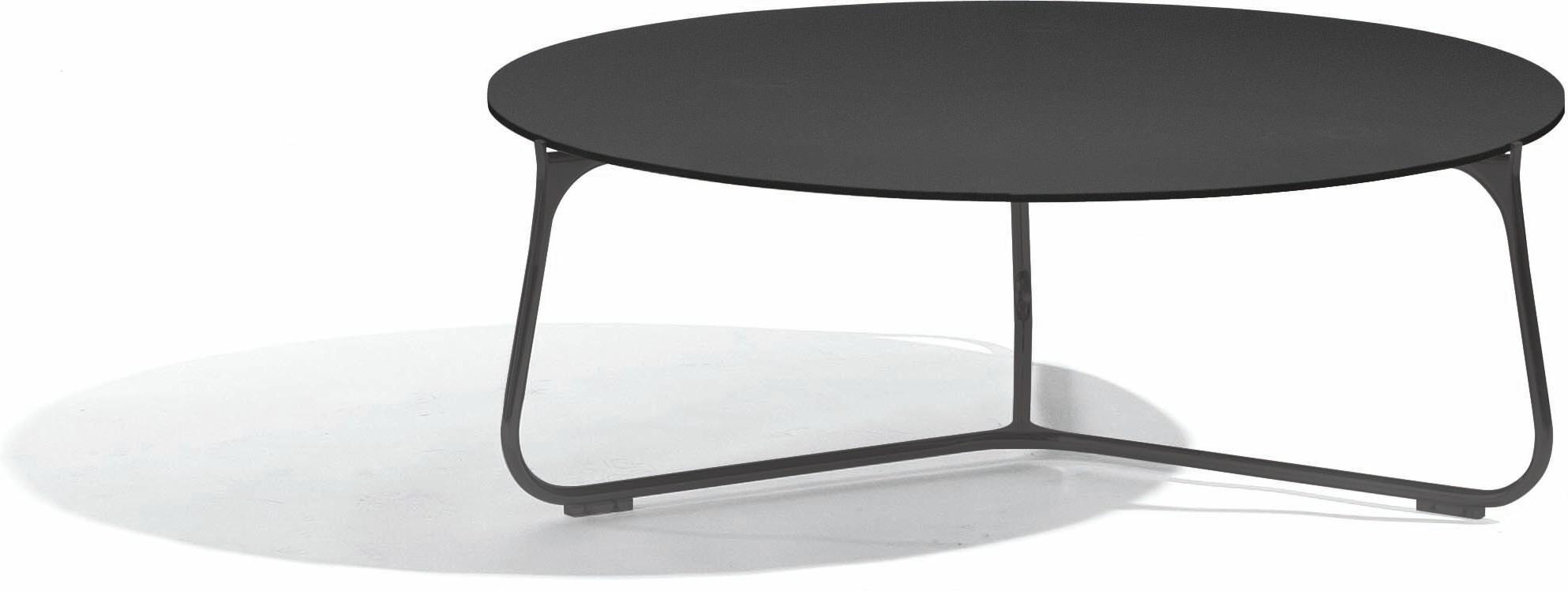 Mood coffee table - lava - glass black - 80