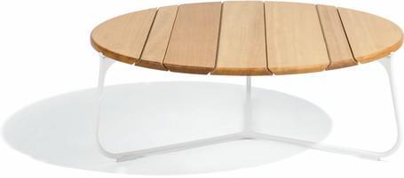 Tavolino da caffè - bianco - iroko IR - 80