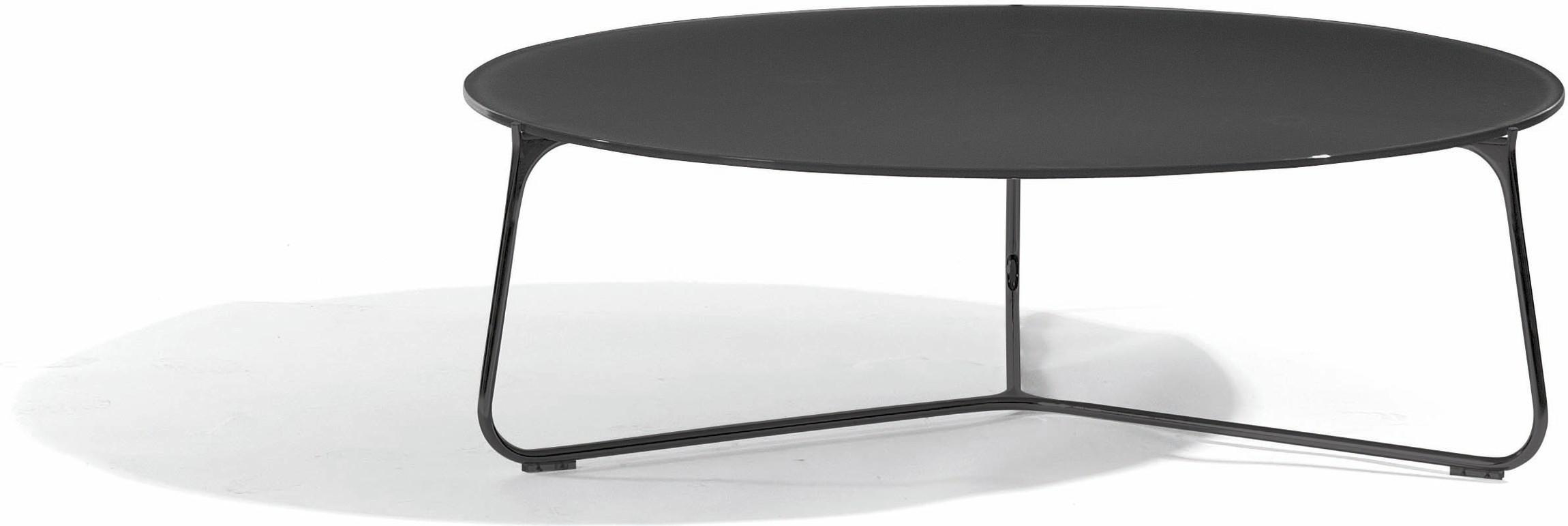 Mood coffee table - lava - glass black - 100
