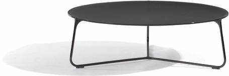 coffee table - lava - glass black - 100