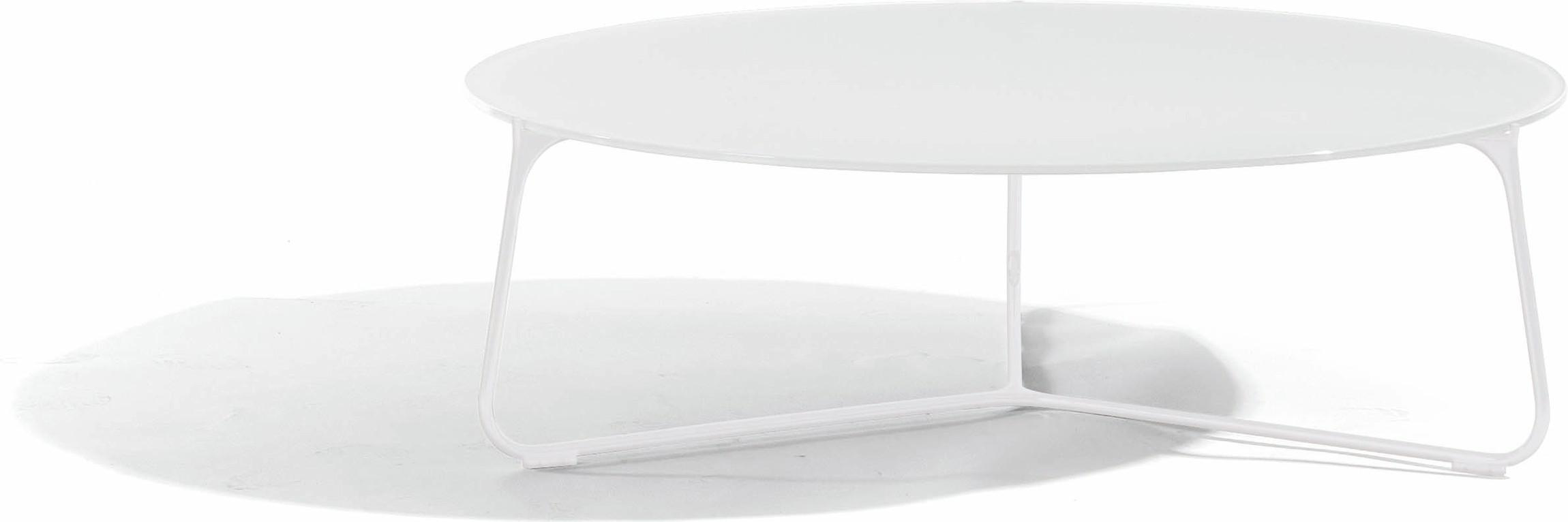 Mood coffee table - white - glass white - 100
