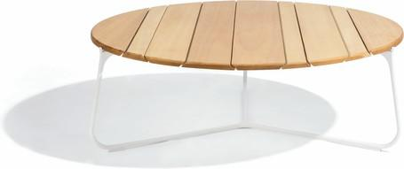 Tavolino da caffè - bianco - iroko IR - 100