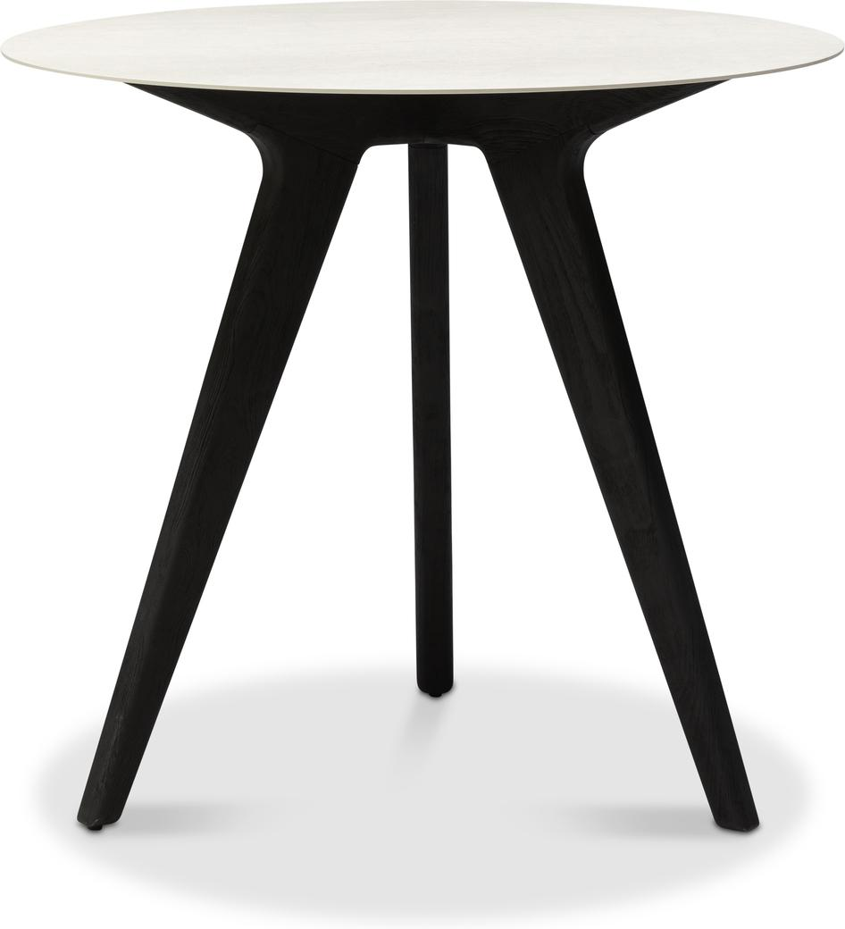 Torsa High dining table - Teak nero - CC 80