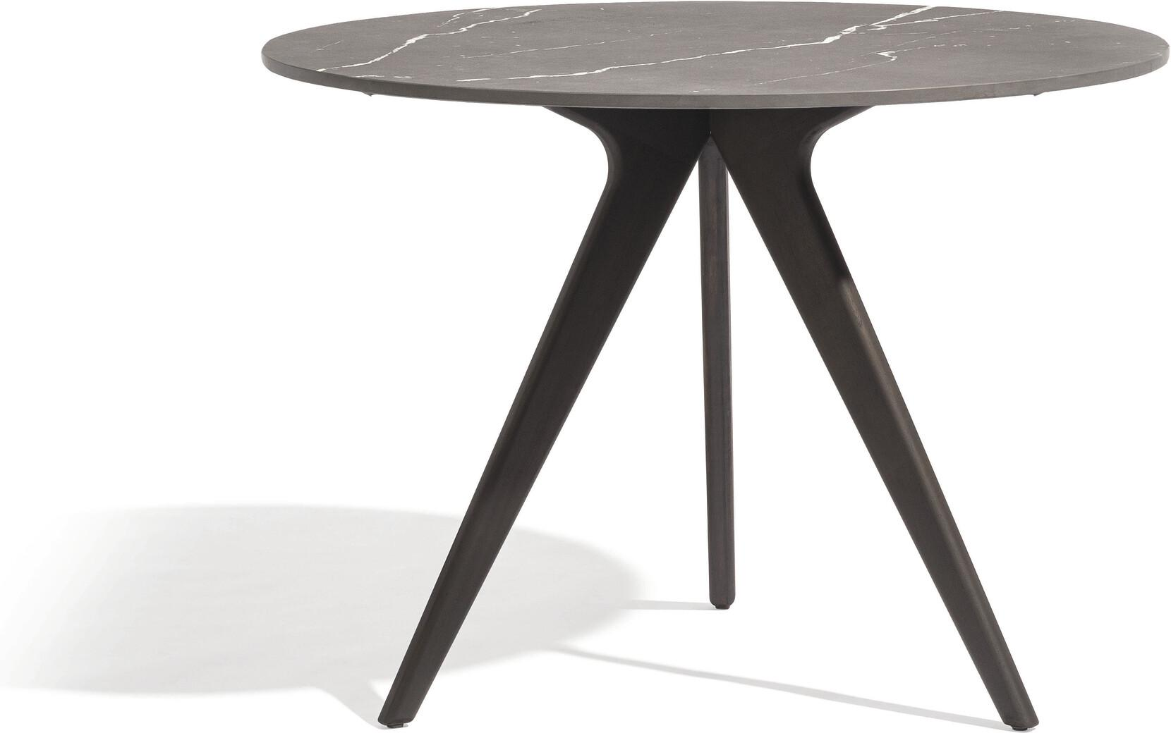 Torsa Dining table - Teak nero - CMB 125