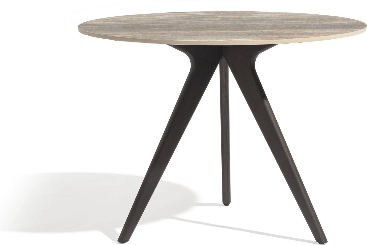 Torsa Dining table - Teak nero - CET 125