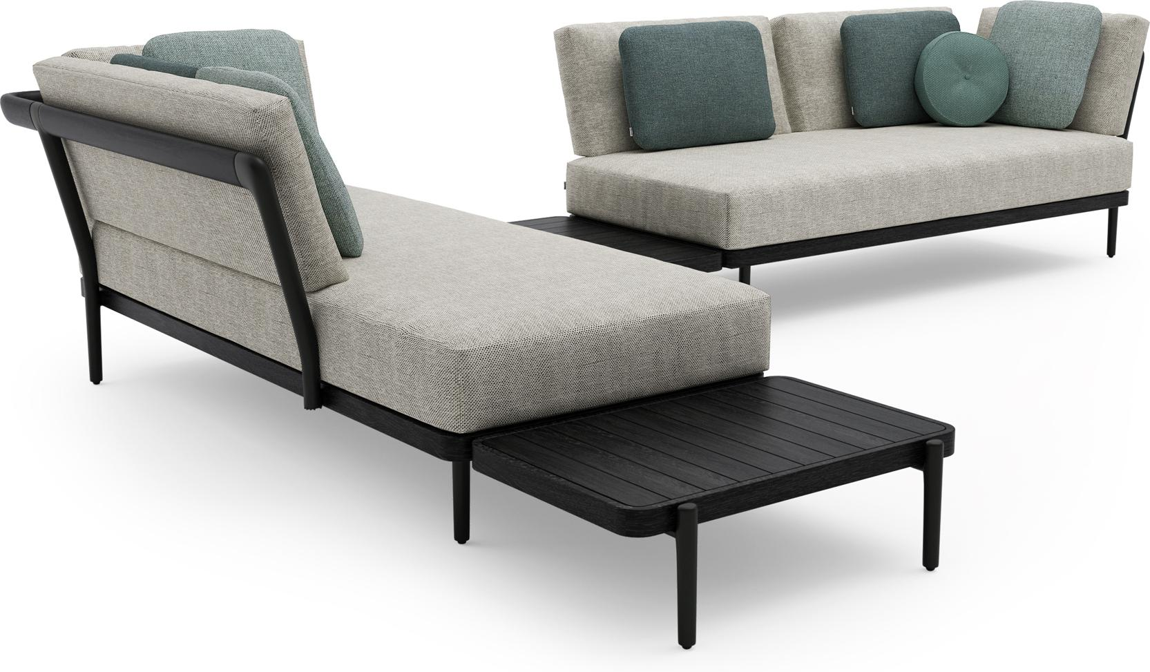 Flex Concept 3 teak nero black