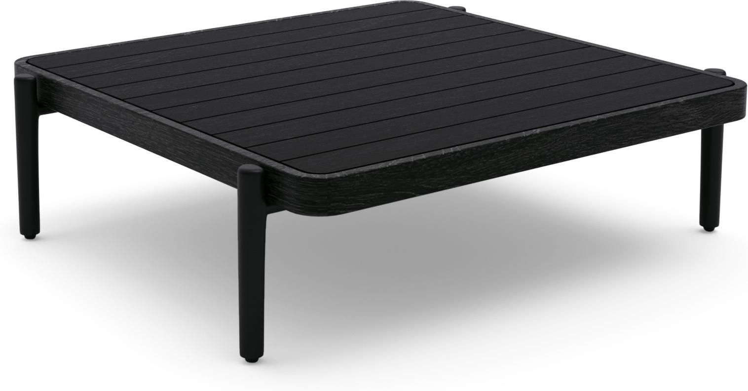 Flex Medium coffee table - black - Teak Nero