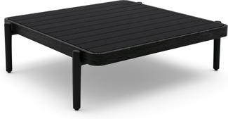 Flex Medium coffee table - black - Teak Nero
