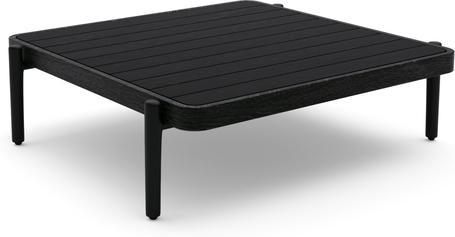 Medium coffee table - black - Teak Nero