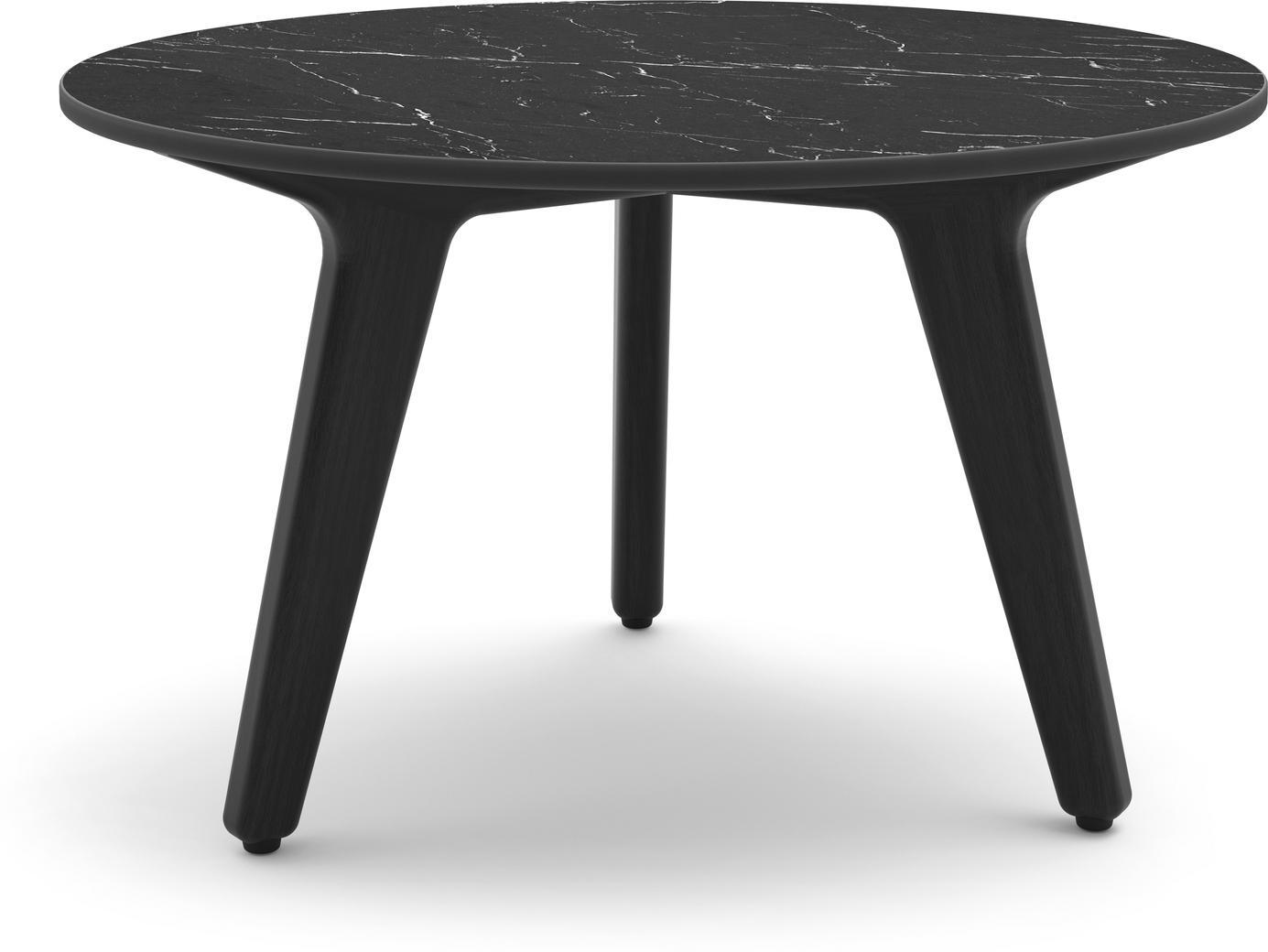 Table basse Torsa 60 - Teck noir - 5K59