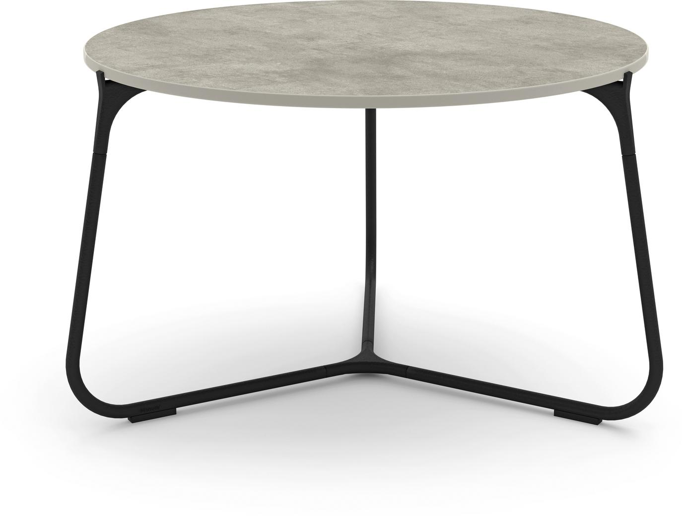 Mood coffee table 60 - lava - ceramic concrete