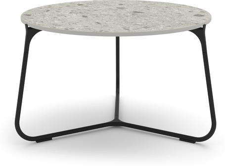 Tavolino da caffè 60 - lava - ceramica fossil