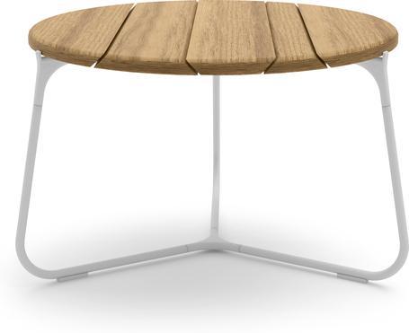 Tavolino da caffè 60 - bianco - iroko