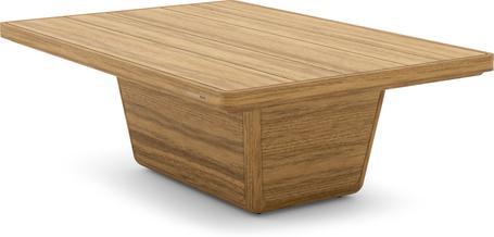 Tavolino da caffè 113x79x37 teak