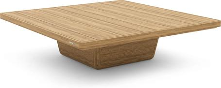 Tavolino da caffè 113x113x30 teak