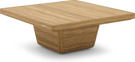 Tavolino da caffè 79x79x30 teak