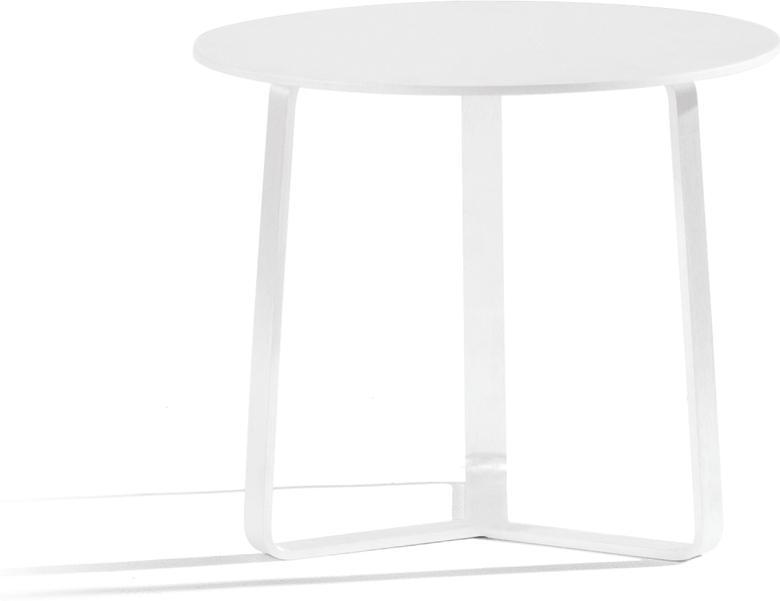 Outdoor sidetable - white - round 48