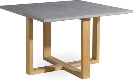 Table à manger - Teck - Pierre - 120x120