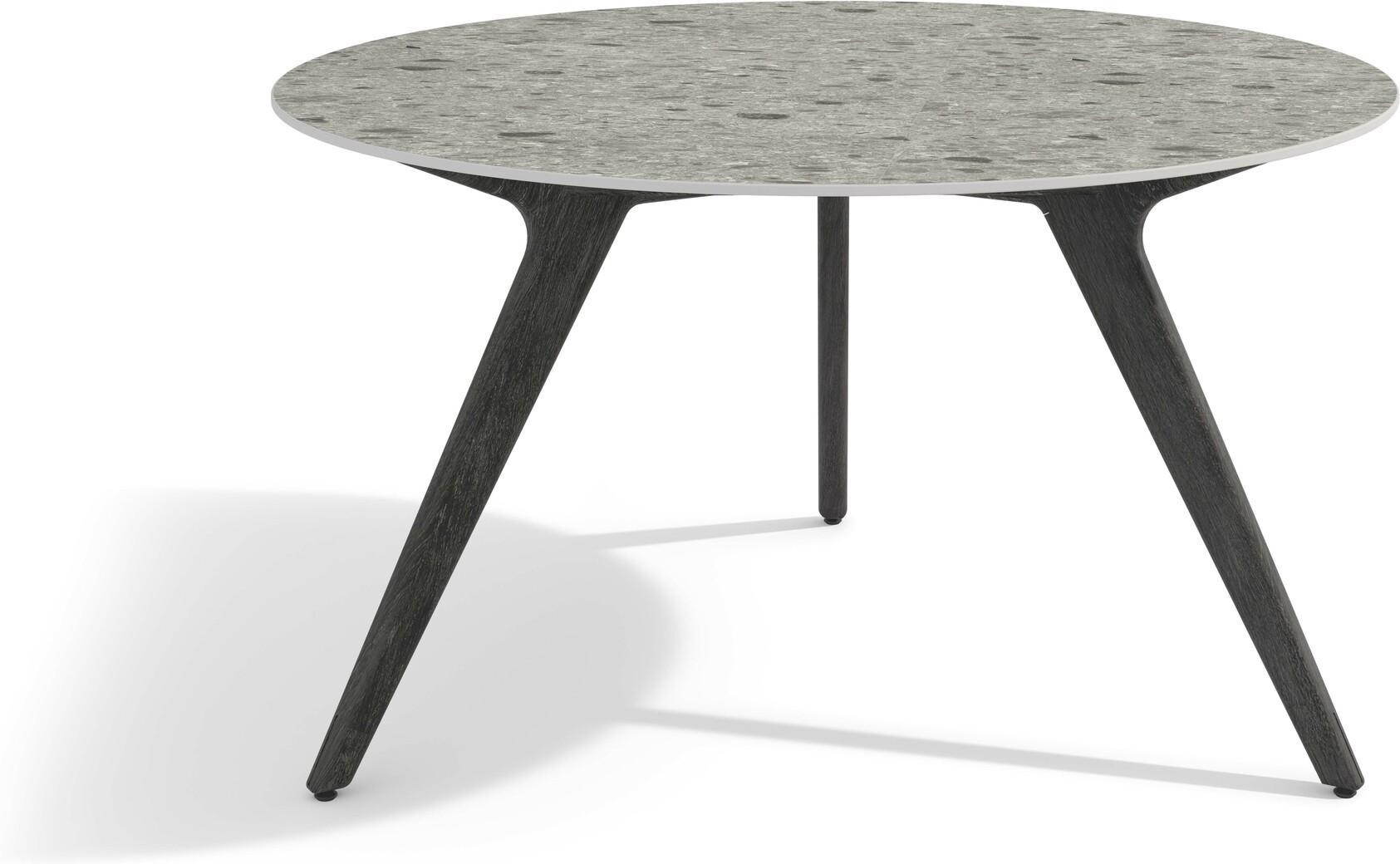 Table à manger Torsa - Teck nero - CF125